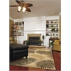 "KAS Rugs Havana 2622 Natural Fern View 7'6"" Round Size Area Rug"