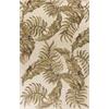 "Havana 2634 Ivory Tropica 8' X 10'6"" Size Area Rug"