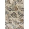 "Havana 2638 Ivory Palms 8' X 10'6"" Size Area Rug"
