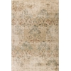 "Heritage 9351 Champagne Damask 3'3"" x 4'11"" Size Area Rug"