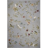 "KAS Rugs Horizon 5716 Blue Floral 5'3"" x 7'7"" Size Area Rug"
