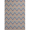 "Horizon 5723 Multi Chevron 6'9"" Round Size Area Rug"
