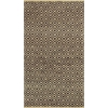 "Izteca 0360 Mocha Diamonds 3'3"" x 5'3"" Size Area Rug"