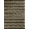 "Izteca 0368 Black Horizon 2'6"" x 8' Runner Size Area Rug"