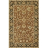 "Jaipur 3851 Coffee/Green Oushak 8' x 10'6"" Size Area Rug"