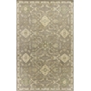 KAS Rugs Jaipur 3872 Taupe Allover Oushak 5' x 8' Size Area Rug