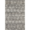 Janvi 3029 Black Brocade 5' x 8' Size Area Rug