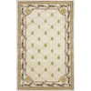 "Jewel 0310 Antique Ivory Fleur-De-Lis 30"" x 50"" Size Area Rug"