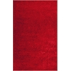"Key West 0609 Tomato Red 3'3"" x 5'3"" Size Area Rug"