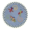 Kidding Around 0417 Flying Fun 3' Round Size Area Rug