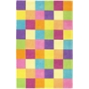 "Kidding Around 0420 Girl'S Color Blocks 3'3"" x 5'3"" Size Area Rug"