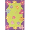 "Kidding Around 0421 Springtime Fun 5' x 7'6"" Size Area Rug"