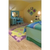 Kidding Around 0421 Springtime Fun 3' Round Size Area Rug