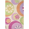 "Kidding Around 0430 Pastel Peppermints 5' x 7'6"" Size Area Rug"