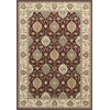 "Kingston 6405 Ruby/Ivory Rania 5'3"" x 7'7"" Size Area Rug"