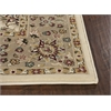 KAS Rugs Kingston 6407 Ivory/Beige Mahal 8' RO Size Area Rug