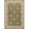 "KAS Rugs Kingston 6409 Green/Ivory Mahal 7'7"" x 10'10"" Size Area Rug"