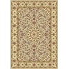 "Kingston 6413 Beige/Ivory Tabriz 5'3"" x 7'7"" Size Area Rug"