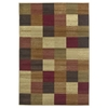 "KAS Rugs Lifestyles 5426 Beige Squares 3'11"" x 5'3"" Size Area Rug"
