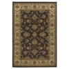 "KAS Rugs Lifestyles 5432 Mocha/Ivory Kashan 2'3"" x 7'7"" Runner Size Area Rug"