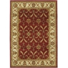 "KAS Rugs Lifestyles 5468 Red/Ivory Agra 2'3"" x 7'7"" Runner Size Area Rug"