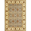 "Lifestyles 5469 Slate/Ivory Agra 2'3"" x 7'7"" Runner Size Area Rug"