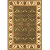"Lifestyles 5470 Green/Ivory Agra 3'11"" x 5'3"" Size Area Rug"