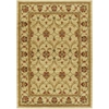 "Lifestyles 5471 Ivory Agra 3'11"" x 5'3"" Size Area Rug"