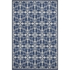 "Lucia 2755 Denim Bentley 3'3"" x 4'11"" Size Area Rug"