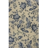 KAS Rugs Marbella 3507 Cream Silhouette 8' X 10' Size Area Rug