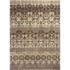 Marrakesh 4512 Ivory/Slate Damask 5' x 8' Size Area Rug