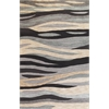 "Milan 2106 Grey Breeze 3'3"" x 5'3"" Size Area Rug"