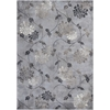 "KAS Rugs Montecarlo IV 5166 Silver Mirage Flora 3'3"" x 4'7"" Size Area Rug"
