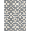 "Oasis 1654 Slate Blue Manor 5'3"" x 7'7"" Size Area Rug"
