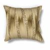 """KAS Rugs L181 Gold Ruffles Pillow 18"""" x 18"""" Size Pillows"""
