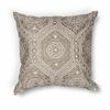"""KAS Rugs L183 Silver Damask Pillow 18"""" x 18"""" Size Pillows"""