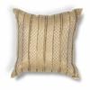 """L184 Gold Sari Silk Pillow 18"""" x 18"""" Size Pillows"""
