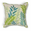 "KAS Rugs L192 Blue-Green Garden Pillow 18"" x 18"" Size Pillows"