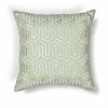 "KAS Rugs L200 Seafoam Geo Pillow 18"" x 18"" Size Pillows"