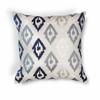 """KAS Rugs L207 Blue Ikat Pillow 20"""" x 20"""" Size Pillows"""