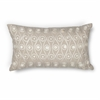 "KAS Rugs L224 Taupe Waves Pillow 12"" x 20"" Size Pillows"