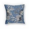 """KAS Rugs L226 Blue Oceana Pillow 18"""" x 18"""" Size Pillows"""