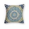 """KAS Rugs L228 Blue/Green Laurel Pillow 20"""" x 20"""" Size Pillows"""