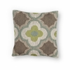 "KAS Rugs L230 Taupe/Sage Filigree Pillow 18"" x 18"" Size Pillows"