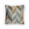 "KAS Rugs L235 Ocean Herringbone Pillow 18"" x 18"" Size Pillows"