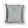 "KAS Rugs L240 Blue/Grey Elegance Pillow 18"" x 18"" Size Pillows"