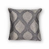 "KAS Rugs L241 Grey Elegance Pillow 20"" x 20"" Size Pillows"