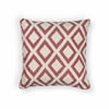 "KAS Rugs L243 Red Diamonds Pillow 18"" x 18"" Size Pillows"