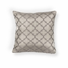 "KAS Rugs L250 Taupe Filigree Pillow 20"" x 20"" Size Pillows"