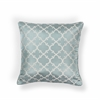 "L251 Lt.Blue Filigree Pillow 18"" x 18"" Size Pillows"